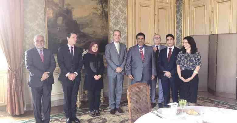 France honours Qatari envoy