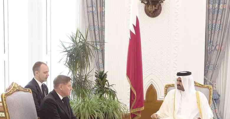 Deputy Amir meets Russian chief justice