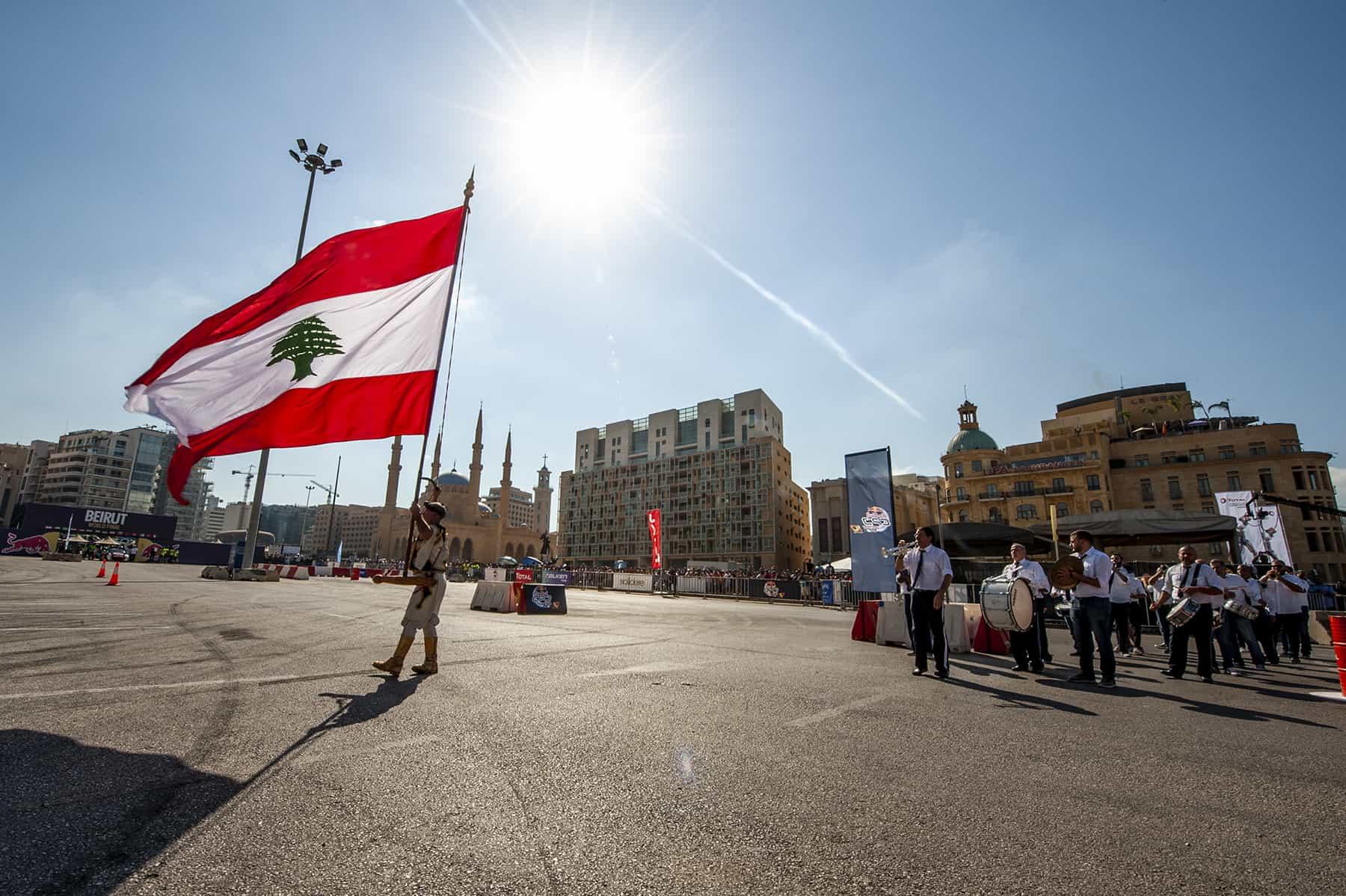 Red Bull Car Park Drift Regional Final weekend in Beirut