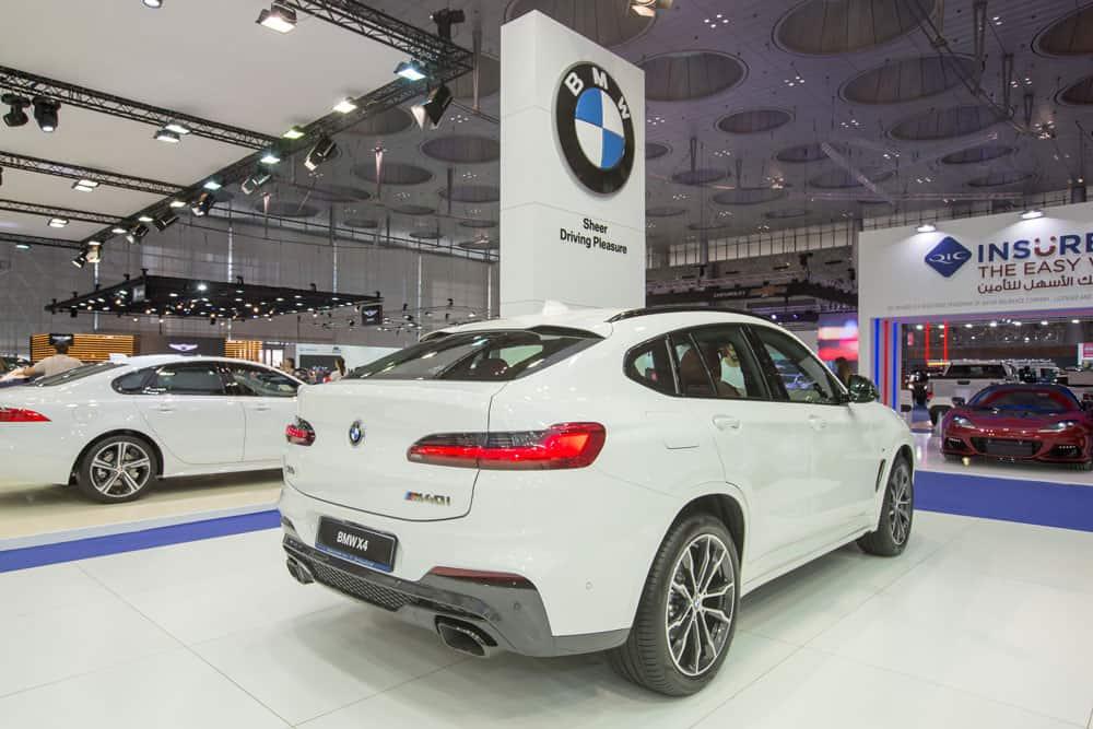 Alfardan Automobiles BMW stand press release at Qatar Motor Show 2018
