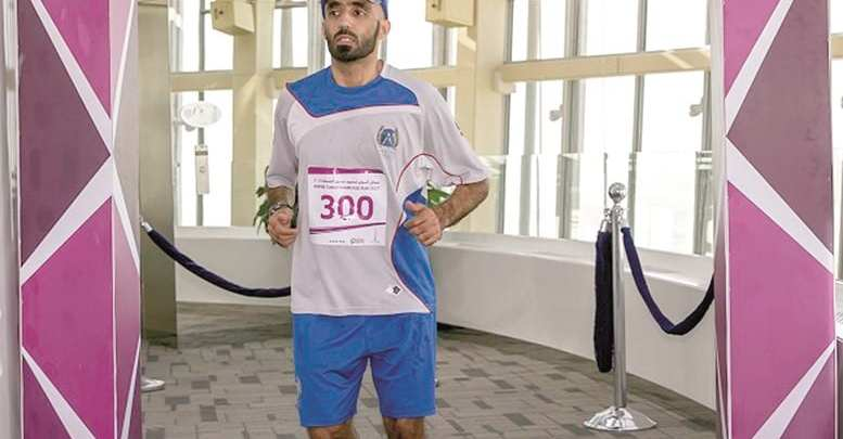 Sports enthusiasts rush to register for Aspire Torch staircase run