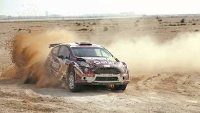 Home hero Al Attiyah grabs lead on day 1