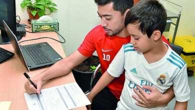 Tabata's son joins Al Rayyan's football academy