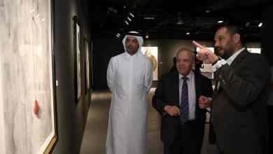 'Wall' art exhibition opens at Katara