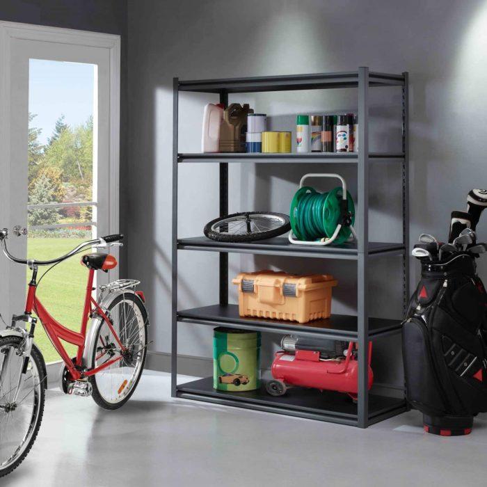 5 shelf storage rack 956873 whalen