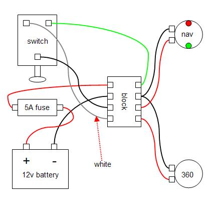 Simple Boat Wiring