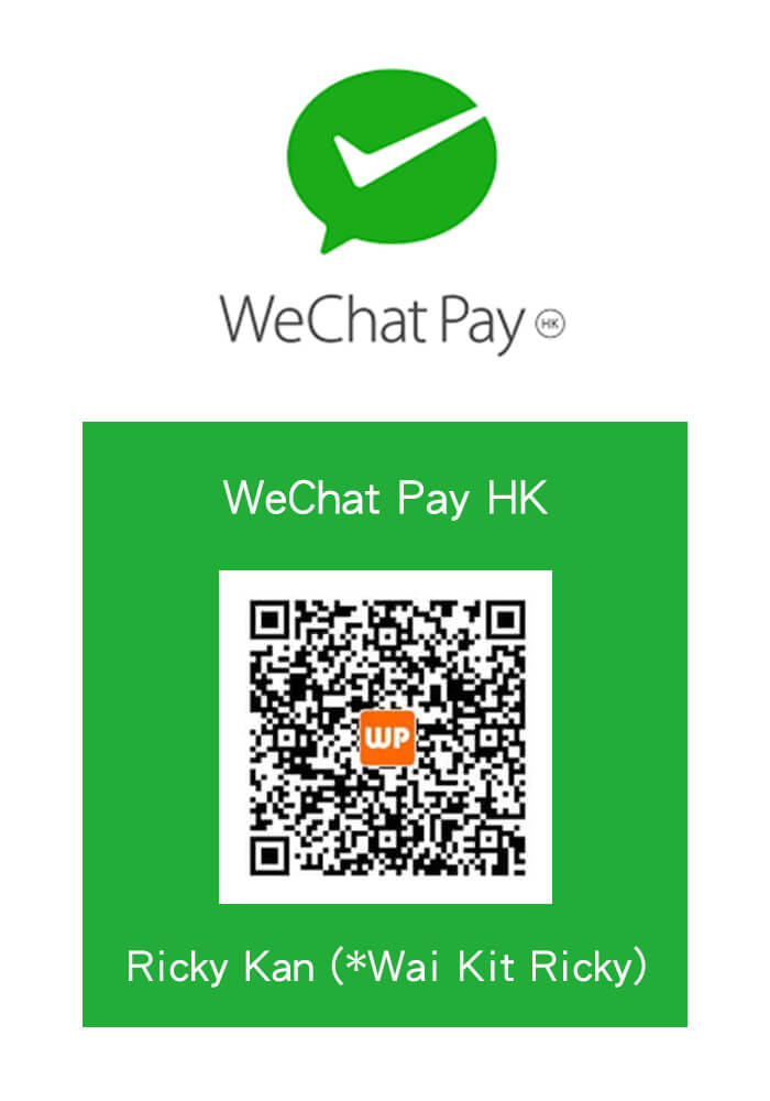 WeChat Pay HK QR Code