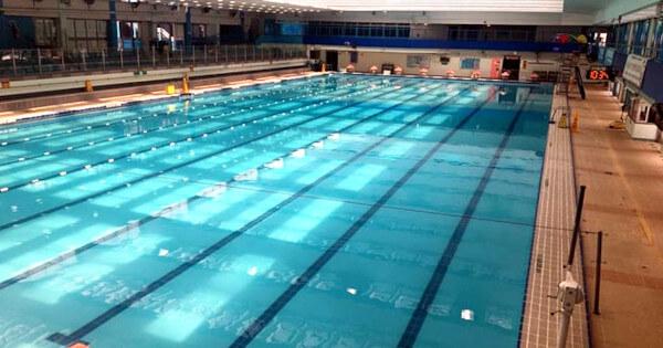 Main pool (Length 50m x Width 21m, Depth: 1.4m-1.9m)