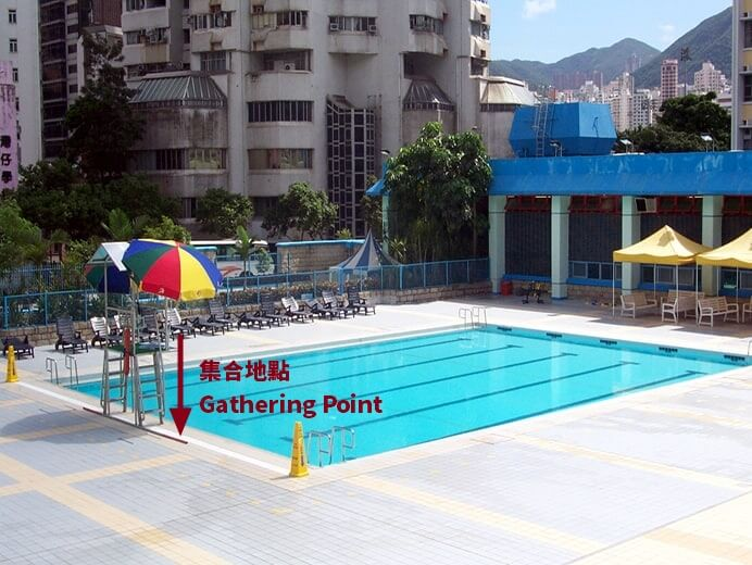 Life Guard Post of Outdoor Teaching Pool