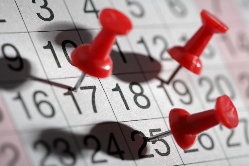 Health care deadines