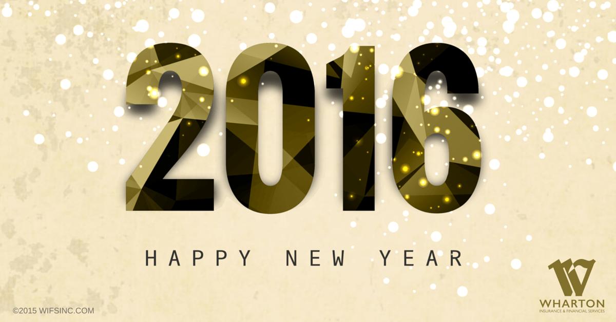 Happy New Year from Wharton Insurance!