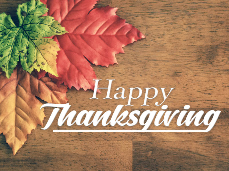 Happy Thanksgiving from Wharton & Power Insurance
