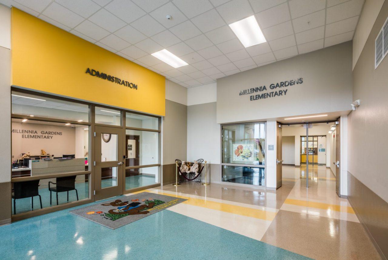 Millennia Gardens Elementary School Wharton Smith Inc