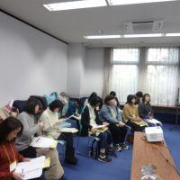 教職員組合の勉強会でタイプ別コミュニケーション研修の講師を務めました(宮城県仙台市)_DSC02149