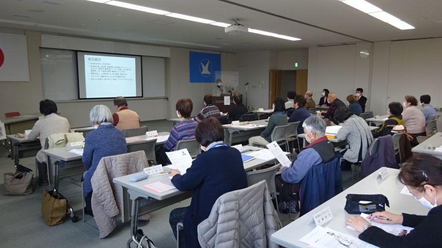 民生委員・児童委員の皆さんにハラスメント防止研修の講師を務めました(宮城県富谷市)_DSC00721