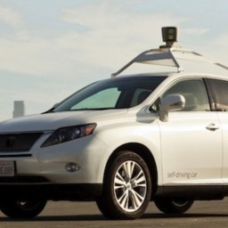 The Google Driverless Car Can Pick/Drop You Automatically