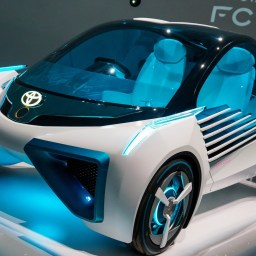 Why Toyota's electric car will house specially designed wind turbines?