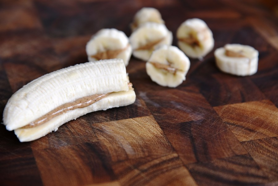 Free Recipe: The Almond Butter Banana Boat