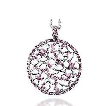 Pink Crystal Pendant