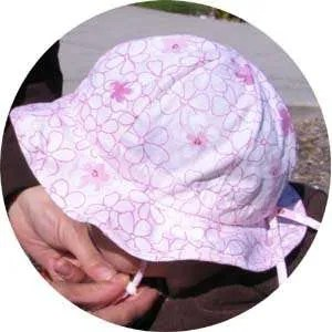 Twinklebelle Grow-with-me Sun Hat - Cherry Blossom