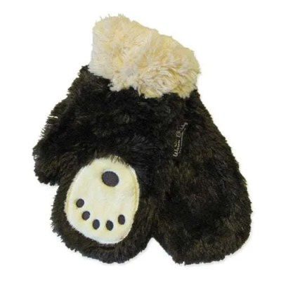 Warm Buddy Bear Paw Mittens for Adults