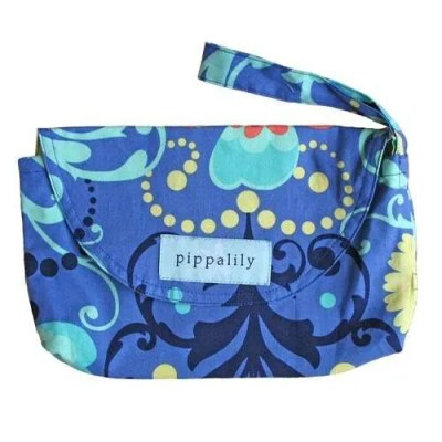 Pippalily Cotton Diaper Wallet - Periwinkle