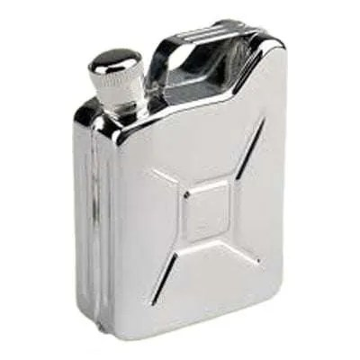 Gas Can Shaped Flask