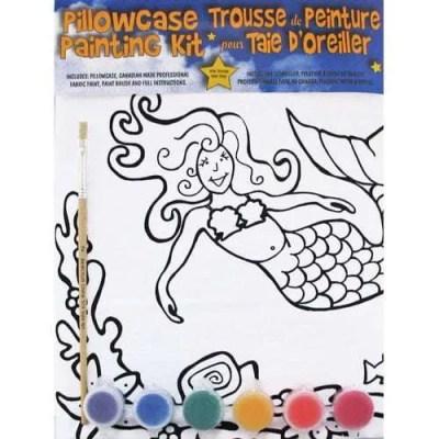 Artburn Mermaid Pillowcase Kit