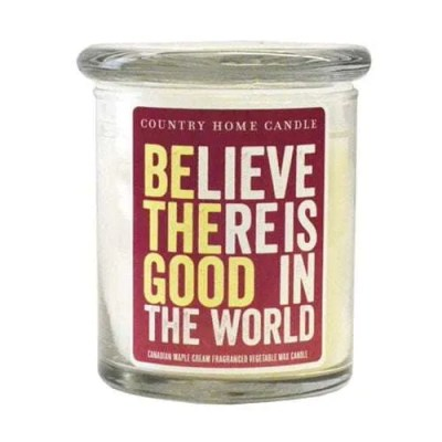 """ Believe "" Inspirational Candle"