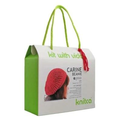 Carine Beanie Knitting Kit by Knitca