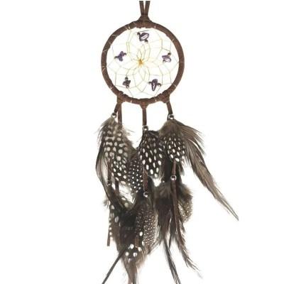 Brown Dream Catcher by Monague Native Crafts