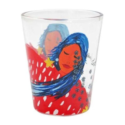 At Peace with the Universe Shot Glass