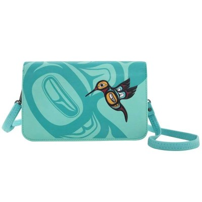 Hummingbird Crossbody Purse - Front