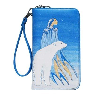 Mother Winter Travel Wallet