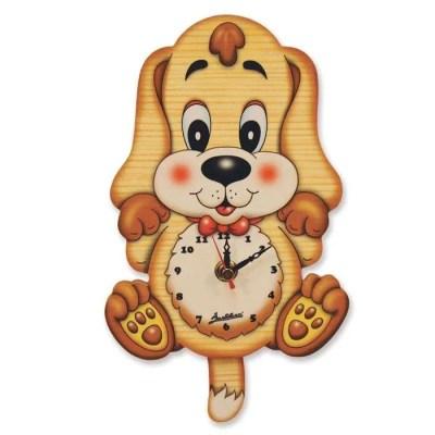 Basset Hound Clock by Bartolucci