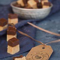 Erdnussbutter-Schokoladen-Fudge