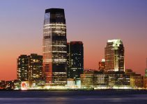 Goldman Sachs Tower, with 42 floors and 781 feet tall, is the tallest building in New Jersey.