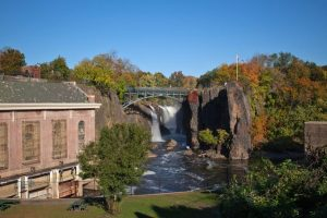 The Great Falls in Paterson, New Jersey.