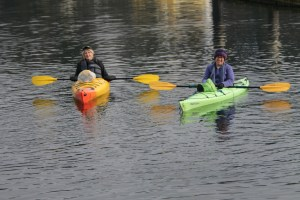 Fall is a beautiful time of year to enjoy kayaking.