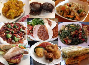 "Clarissa Mansfield includes her favorite local vegan cuisine on her website, ""Vegan in Bellingham."" Photo credit: Clarissa Mansfield."