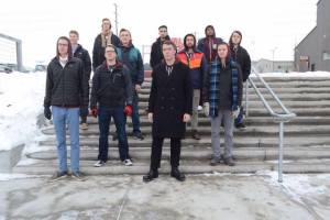 Rebel Clef is on tour in Eastern Washington. Photo Courtesy: WWU A Capella Club.