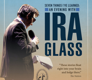 Mount Baker Theatre Presents: Seven Things I've Learned: An Evening with Ira Glass @ Mount Baker Theatre   Bellingham   Washington   United States