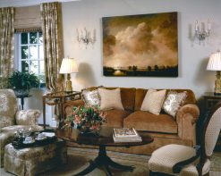 Jonathan O'Brien uses items that are important to his clients to create a space they will love. Photo courtesy: Jonathan O'Brien.