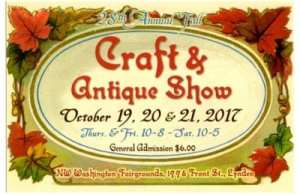 28th Annual Fall Craft & Antique Show @ Northwest Washington Fair and Event Center | Lynden | Washington | United States