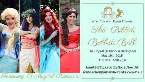 The Bibbidi Bobbidi Ball @ The Crystal Ballroom | Bellingham | Washington | United States