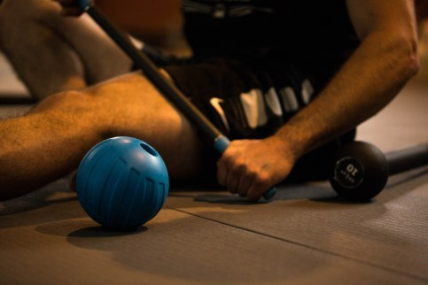 Experience the Dynamic Recovery class with Rad Roller Self Myofascial Release tools. Photo courtesy: Flex Movement Lab.