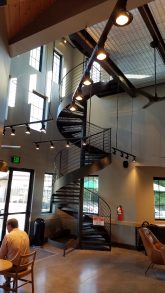 The new Starbucks' architecture is truly amazing. Photo credit: Bill Schwartz.