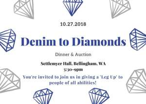 Denim to Diamonds Dinner & Auction @ Settlemyer Hall, Bellingham Technical College | Bellingham | Washington | United States