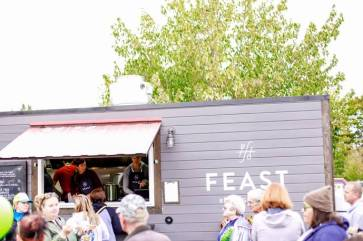 Feast has been popular at the event. Photo courtesy: Industrial Credit Union.