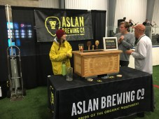 Don't miss Whatcom County's own Aslan Brewing. Photo courtesy: Hoptoberfest.
